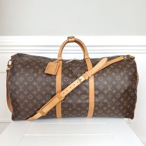 Louis Vuitton Keepall Bandouliere 60 Duffel